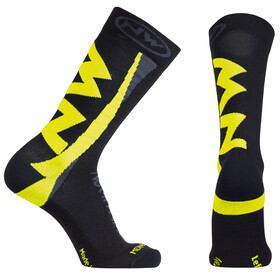 Northwave Extreme Winter Socks Men black/yellow fluo